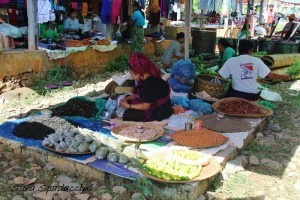 Mercato locale vicino al lago Inle 2, Myanmar
