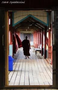 Monastero Nga Phe Kyaung 2, lago Inle