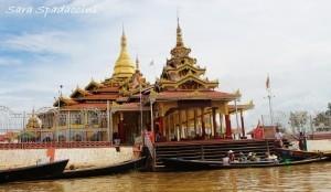 Pagoda Phaung Daw Oo Kyaung, lago Inle