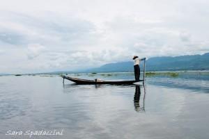Pescatore sul lago Inle 1, lago Inle