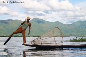 Pescatore sul lago Inle 3, lago Inle