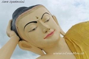 Viso del Myathalyaung Buddha, Bago