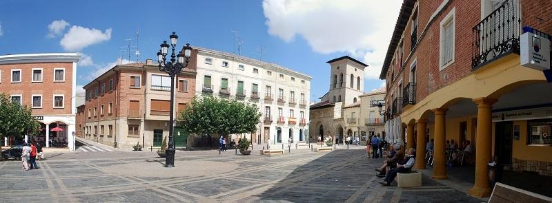 Plaza Mayor - Carrion de los Condes, Spagna