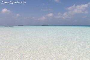 Stupenda spiaggia dell'hotel 2, Maldive 2013