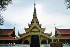 Royal Palace di Mandalay, Myanmar