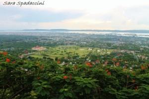 Vista da Mandalay Hill 1, Myanmar
