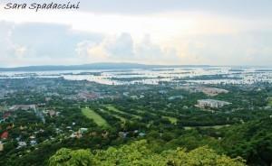 Vista da Mandalay Hill 2, Myanmar