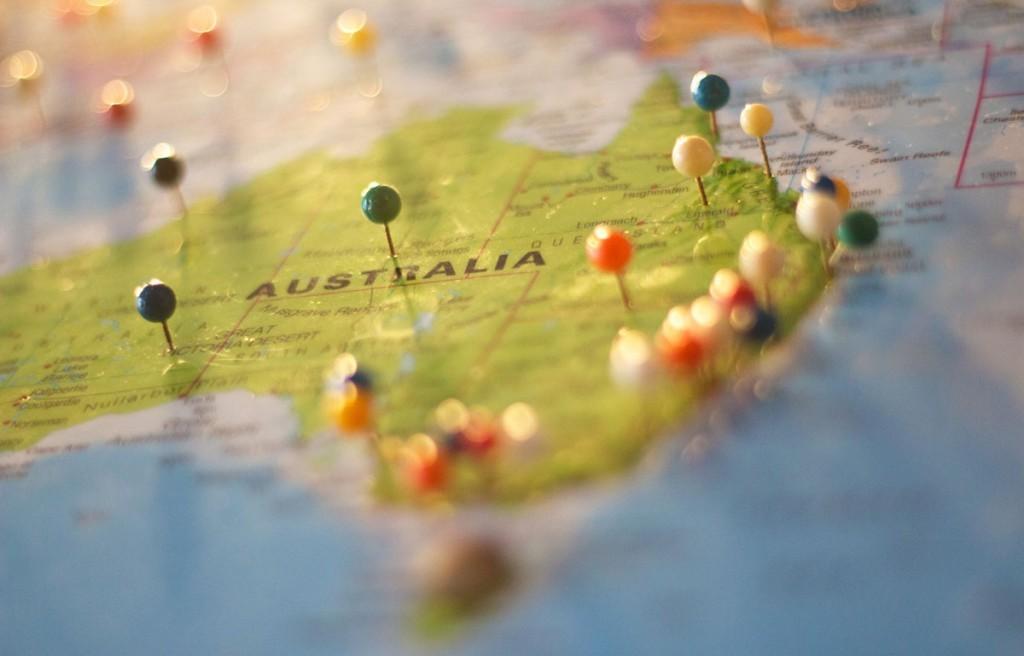Cartina Australia
